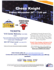 2010 Nuggets Chess Knight