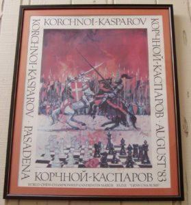 Kaparov vs. Korchnoi poster