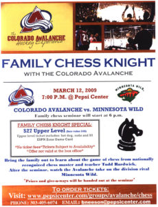 2009 Avalanche Chess Knight