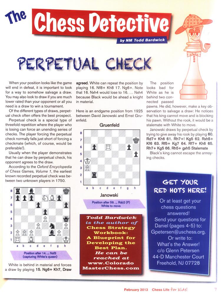 Chess Life for Kids – Chess Academy of Denver