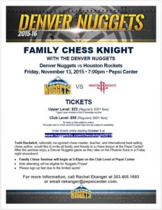 2015 Nuggets Chess Knight Flyer