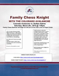 2015 Family Chess Knight