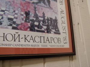 Korchnoi's autograph